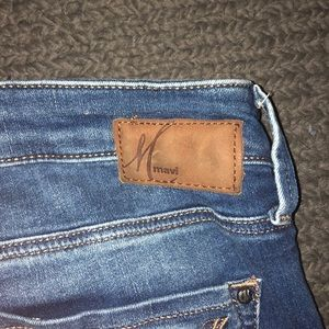 Mavi Jeans - mavi mid-ride skinny jeans